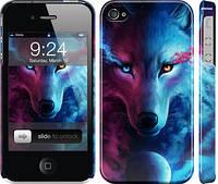 "Чехол на iPhone 4s Арт-волк ""3999c-12-24089"""