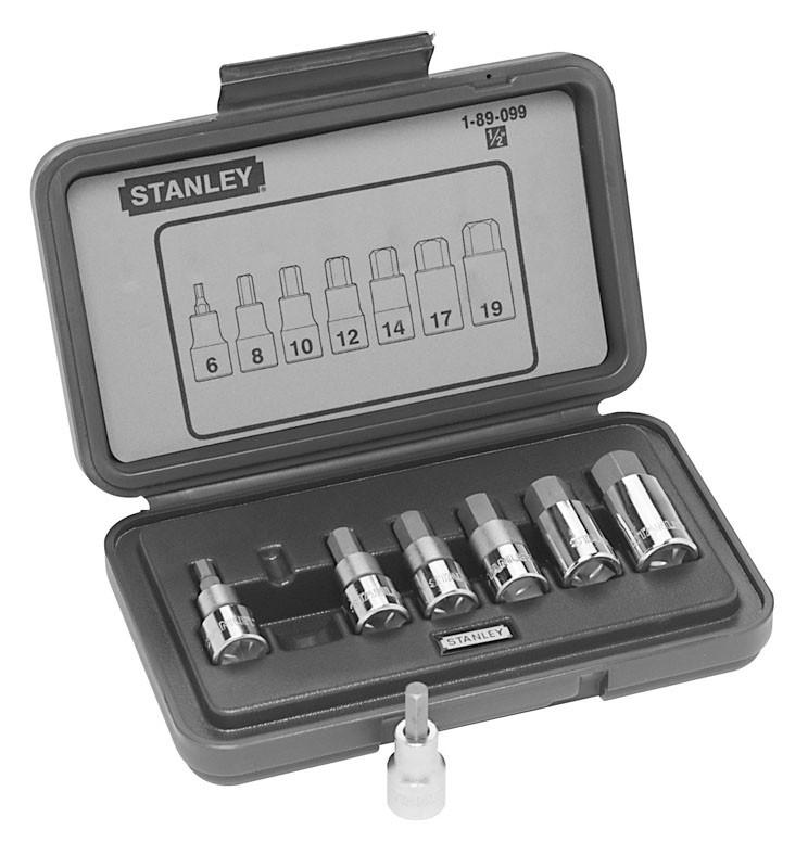 Набор ключей 6-ти гранн. в держателе 7 ед.    STANLEY 1-89-099