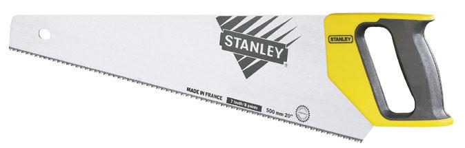 Ножовка по дереву 550мм  7TPI универсальный  закаленный зуб    STANLEY 1-20-009