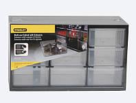 Ящик инструментальный-органайзер пластмассовый 9-секционный вертикальный (36.5 x 15.5 x 21.3см)  STA