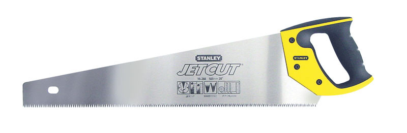 """Ножовка по дереву 450мм  7TPI """"Jet-Cut SP"""" закаленный 3-гранный зуб    STANLEY 2-15-283"""
