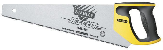 """Ножовка по дереву 380мм 11TPI """"Jet-Cut Fine"""" закаленный 3-гранный зуб    STANLEY 2-15-594"""