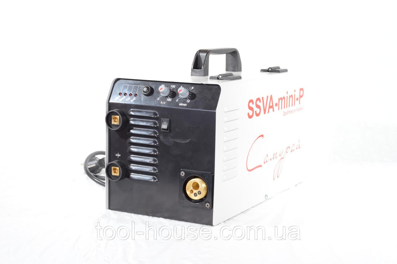 Cварочный полуавтомат SSVA-mini-P Самурай  не укомплектованный рукавом