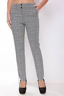 Брюки классические женские 1789, (2цв), клетчатые брюки, брюки для офиса, брюки в клетку