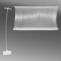 Пластиковые соединители (держатели бирок) 45 мм для деликатных тканей 5000 шт