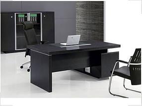 Стол руководителя Grasp  Венге GRS-180 (Диал ТМ)