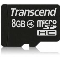 Карта памяти Transcend microSDHC 8 ГБ Class 4