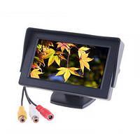 Автомобильный 2-х канальный LCD монитор для камеры заднего вида или автомобильного DVD плеера 4.3 дюйма