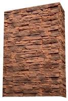 Искусственный камень цементный АМЕРИКАНА 20 прямой / угловой  ( 0,5 м2 )