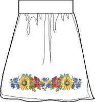 СПЖП-28. Заготовка Жіноча спідниця домоткана