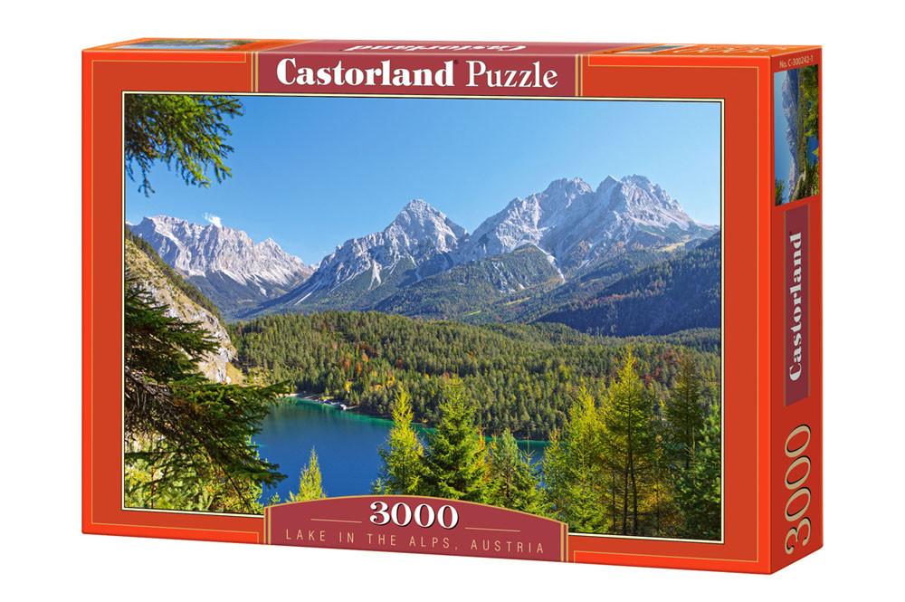 Пазл Castorland Lake in the Alps, Austria, 3000 эл.