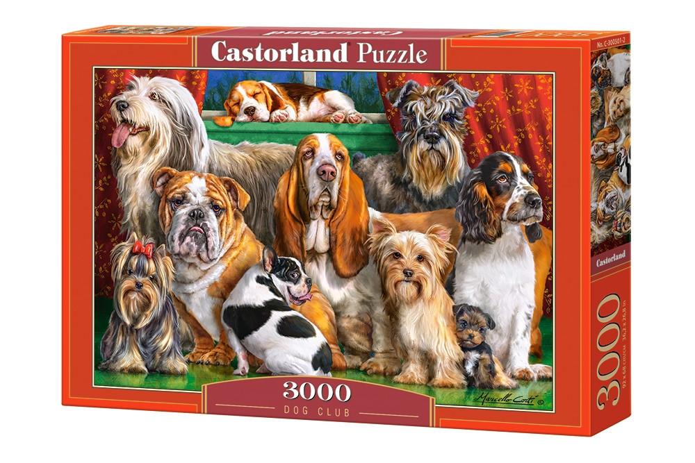 Пазл Castorland Dog Club, 3000 эл.