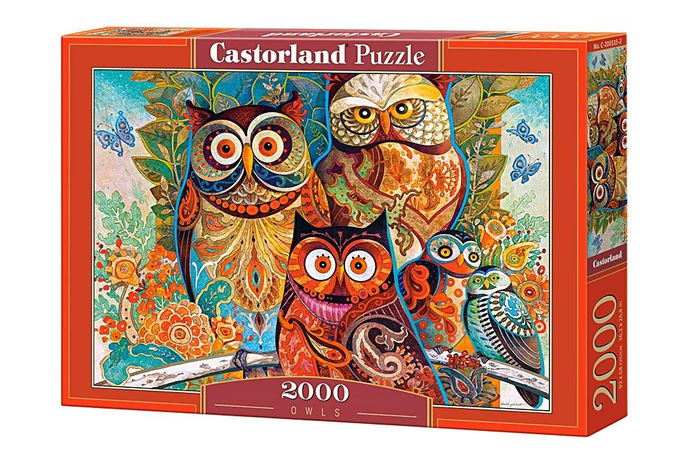 Пазл Castorland Owls, 2000 эл.