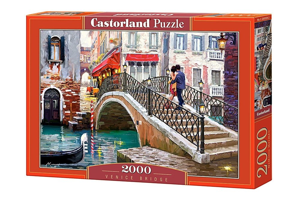 Пазл Castorland Venice Bridge, 2000 эл.