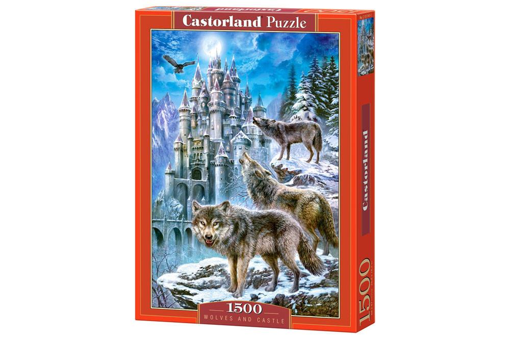 Пазл Castorland Wolves and Castle, 1500 эл.