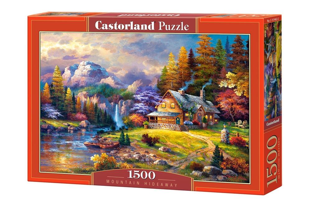 Пазл Castorland Mountain Hideaway, 1500 эл.
