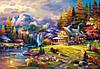 Пазл Castorland Mountain Hideaway, 1500 эл., фото 2