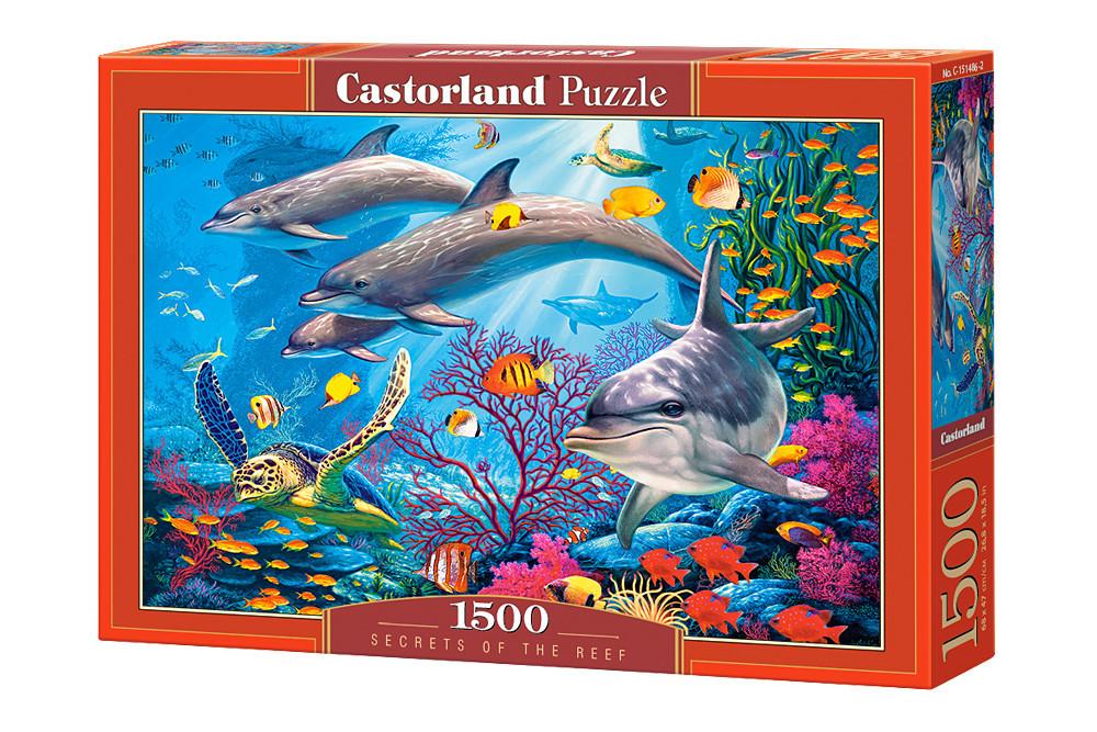 Пазл Castorland Secrets of the Reef, 1500 эл.