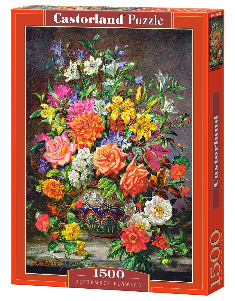 Пазл Castorland September Flowers, 1500 эл.