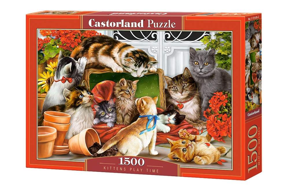 Пазл Castorland Kittens Play Time, 1500 эл.