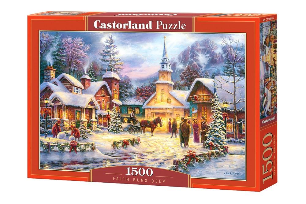 Пазл Castorland Faith Runs Deep, 1500 эл.