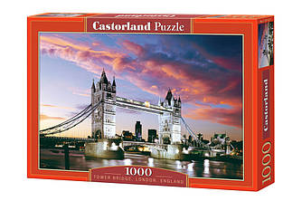 Пазл Castorland Tower Bridge, London, England, 1000 эл.