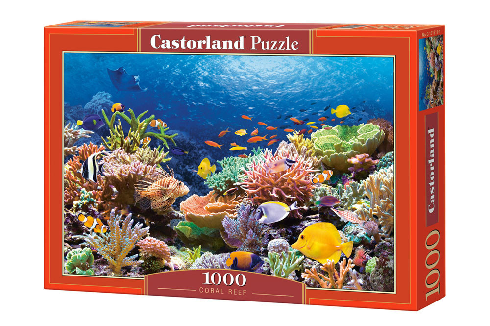 Пазл Castorland Coral Reef Fishes, 1000 эл.