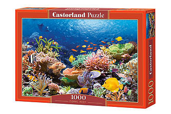 *Пазл Castorland Coral Reef Fishes, 1000 эл.
