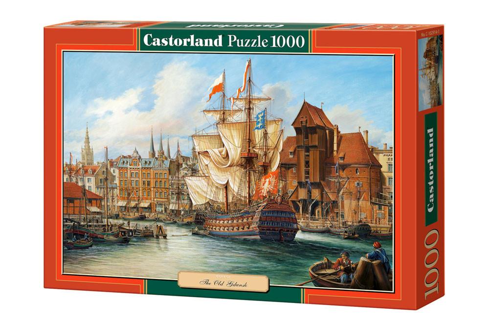 Пазл Castorland Copy of The Old Gdansk, 1000 эл.