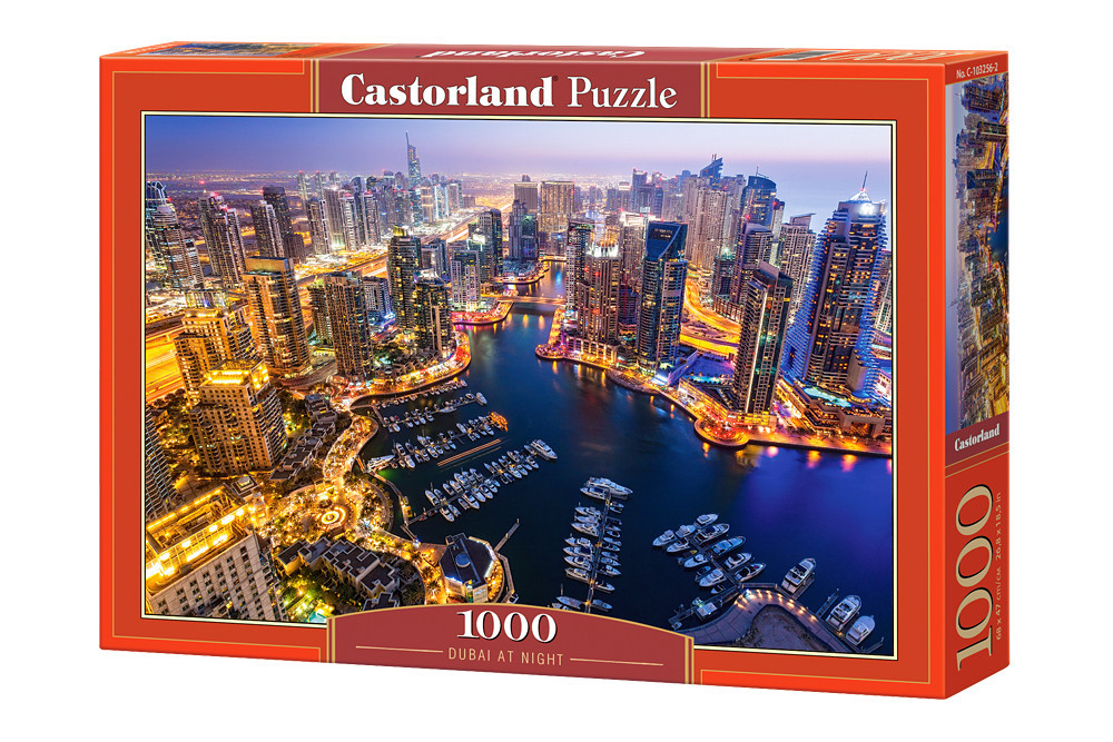 Пазл Castorland Dubai at Night, 1000 эл.