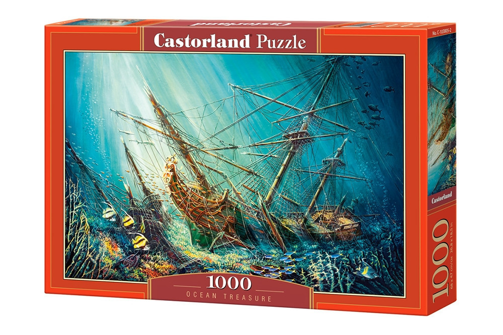 Пазл Castorland Ocean Treasure, 1000 эл.