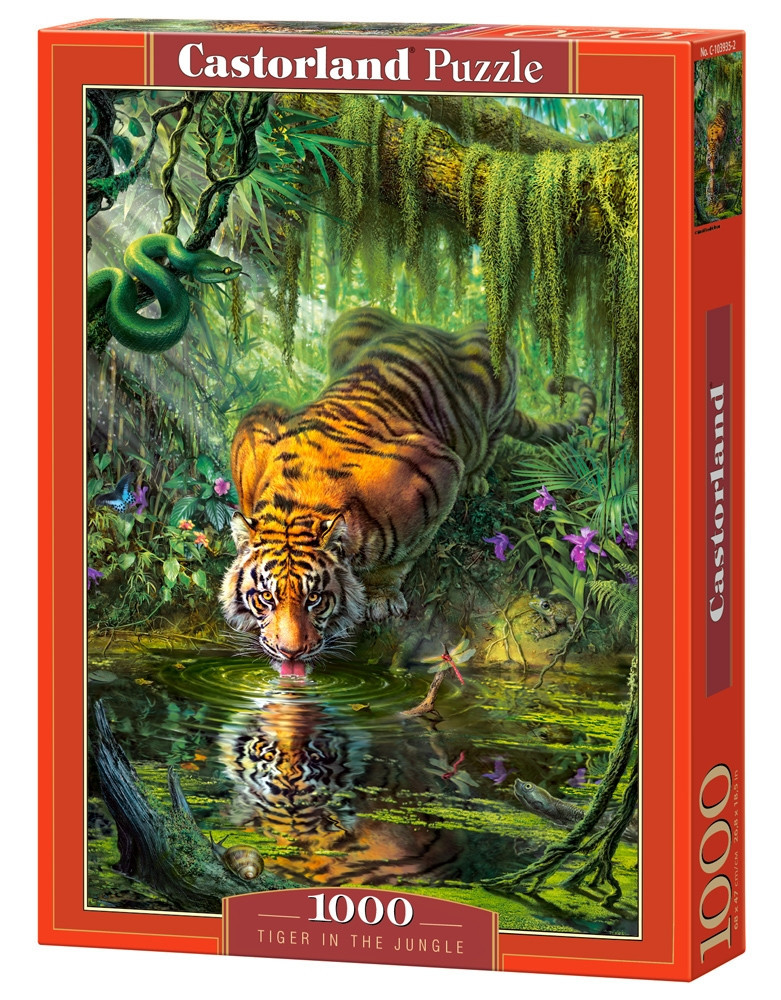 Пазл Castorland Tiger in the Jungle, 1000 эл.