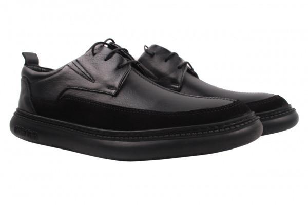 Туфли комфорт Copalo натуральная кожа, цвет черный