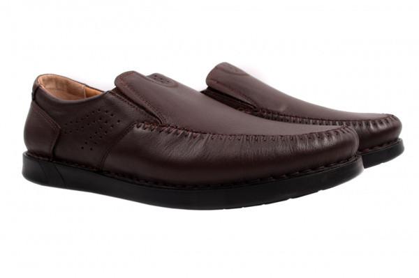Туфли комфорт Umaro натуральная кожа, цвет коричневый