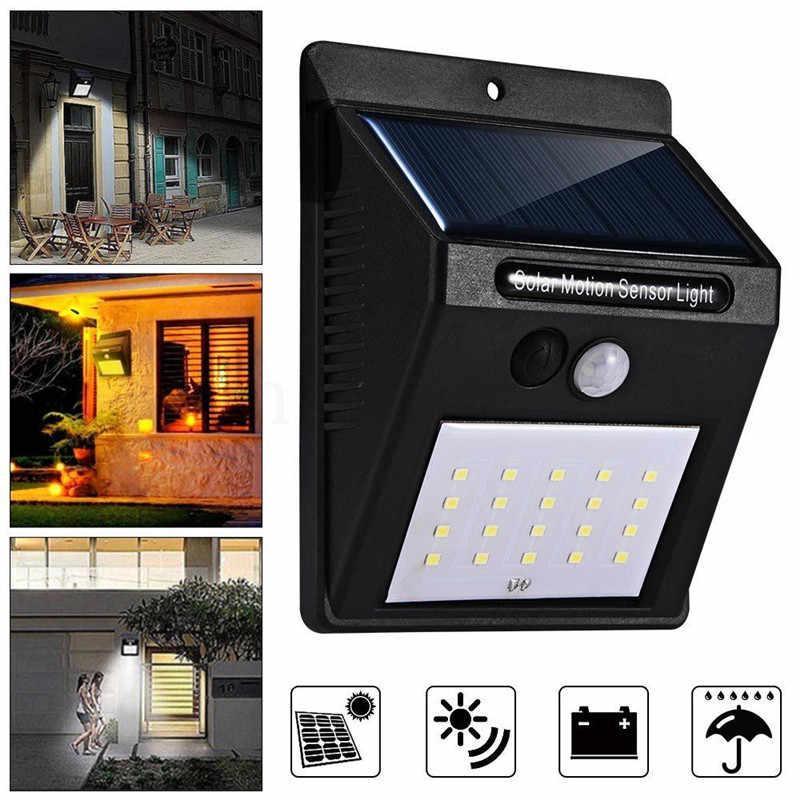 Cветильник LED наружного освещения Solar Motion Sensor Light на солнечных батареях с датчиком движения