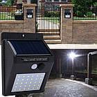 Cветильник LED наружного освещения Solar Motion Sensor Light на солнечных батареях с датчиком движения  , фото 6