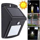 Cветильник LED наружного освещения Solar Motion Sensor Light на солнечных батареях с датчиком движения  , фото 8