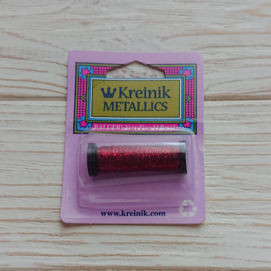 Kreinik 003HL Very Fine #4 Braid