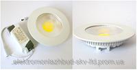 Светильник светодиодный 10W круг внутренний Light COB 950Lm 4000-4500/2700-3500 K 155*155*30 mm