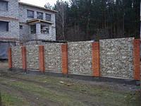 Профнастил под камень для забора, фасада цена в Киеве