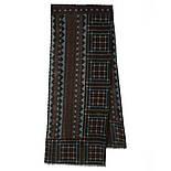 10369-8 кашне мужское разреженная шерсть, павлопосадский шарф (кашне) шерстяной (разреженная шерсть) с осыпкой, фото 2