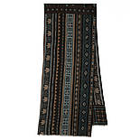 10369-8 кашне чоловіче розріджена шерсть, павлопосадский шарф (кашне) вовняної (розріджена шерсть) з осыпкой, фото 4