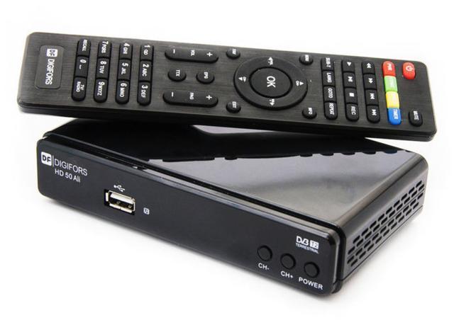 как настроить ТВ приставку