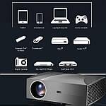 Проектор мультимедийный 4200 люмен Full HD Wi-Fi стерео Vivibright Wilight F30 домашний кинотеатр кинопроектор, фото 8