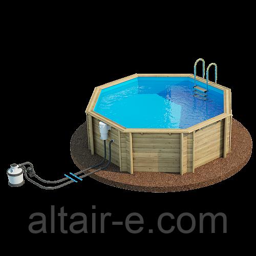 Деревянный бассейн Tropic 414