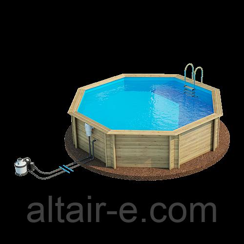 Деревянный бассейн Weva 530