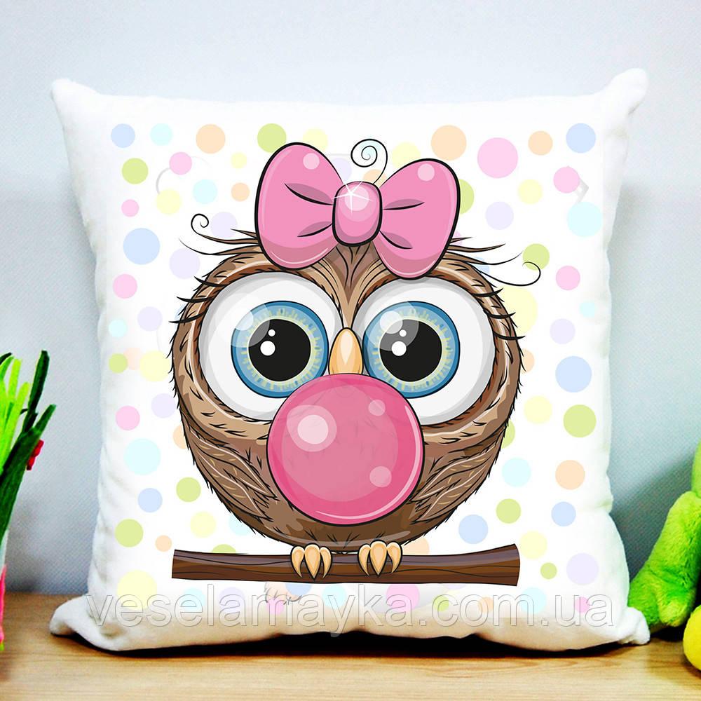 Подушка Сова с жвачкой