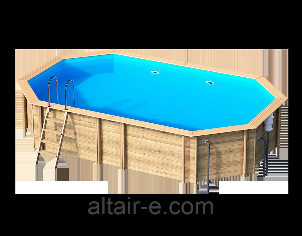Деревянный бассейн Weva +640