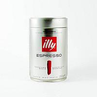 Итальянский молотый кофе illy Espresso оригинал