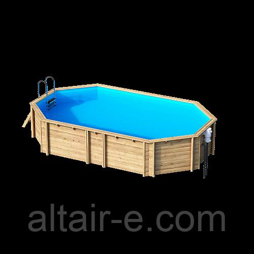 Деревянный бассейн Weva +840